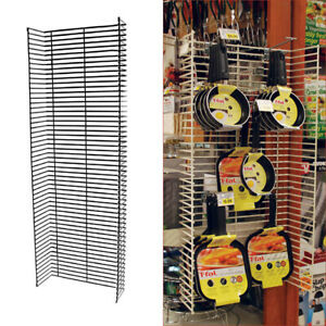 Retail Store 4 Shelving Power Panels Side Wing Fits Lozier Madix
