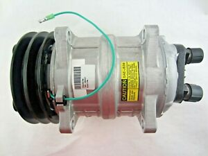 Ac Compressor Valeo Seltec Tm15 With 2a Groove 24volt Clutch 103 55017