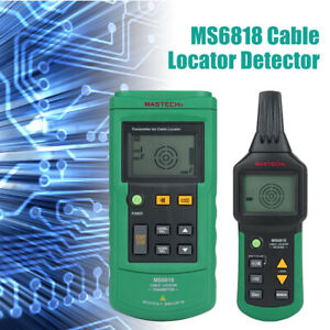 Ms6818 Ac dc 400v Wire Cable Locator Metal Pipe Detector Tester Line Tracker