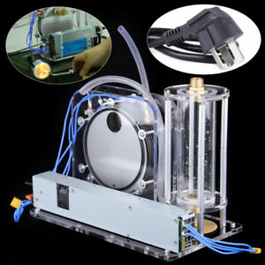Electrolysis Water Machine Oxy hydrogen Flame Generator Water Welder W spray Gun