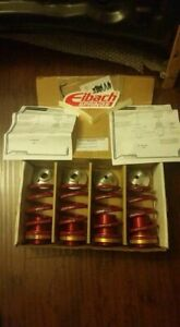 Ground Control Coilovers Ford Escort Zx2 S r Eibach Springs new Free Shipping