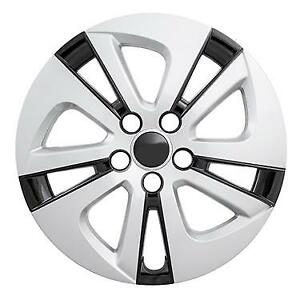 New 2016 2018 Toyota Prius 15 Silver Black Hubcap Wheelcover