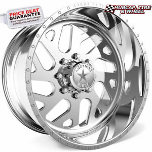 American Force D07 Camber Ss Polished 20 x14 Wheels Rims 8 Lug set Of 4