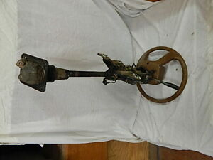 1983 Kp61 Toyota Starlet Steering Column With Wheel And Switches