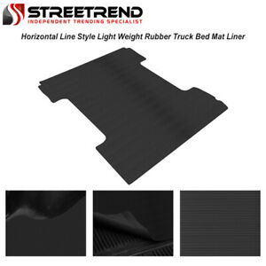For 1999 2007 Silverado sierra 6 5 Ft 78 Rubber Truck Bed Floor Mat Liner V2