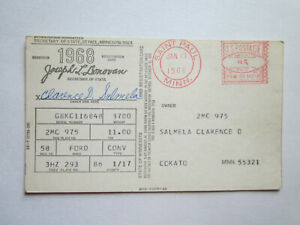 1958 Ford Convertible Barn Find Historical Document