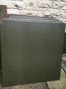 16 Lyon 36 By 36 By 9 Tall Industrial Shelf Units Army Green 67 Shelves