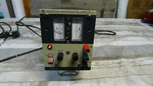 Kepco Power Supply Jqe36 3m 0 36v 0 3a Powers On Gauges Work
