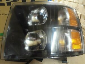 2007 2010 Chevy Silverado Headlight Assembly Left Driver Side