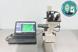 Nikon Tms Inverted Microscope With Camera And Warranty See Video