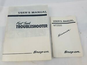 Snap On Tools Gm Scanner User s Manuals Fast Track Troubleshooter Users Manual