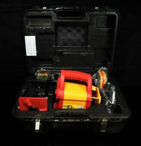 Pacific Laser Systems Pls Hvr505g Green Rotary Laser Level Kit