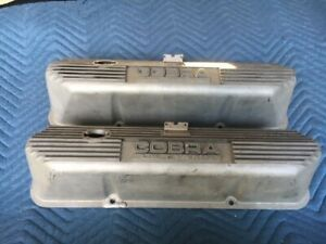 Cobra Lemans Valve Covers Original Shelby American Inc Ford 390 427 428