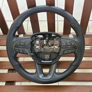 17 19 Charger challenger R t Steering Wheel W Paddle Shift Perforated Leahter