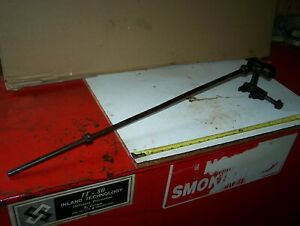 Old Ihc 6hp Type M Push Rod Fuel Pump Lever Hit Miss Engine Steam Oiler Nice