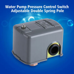 40 60 Psi Well Water Pump Pressure Control Switch Adjustable Double Spring Pole