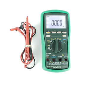 Greenlee Dm 860a Digital Multimeter True Rms 500k Counts With Test Leads
