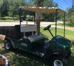 E z go Mpt1000e 48v Utility Golf Cart By Textron
