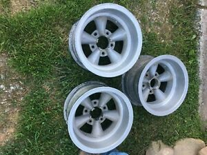 Wheels 3 Ea 15 X 8 5 2 Centers Machined Out Fenton Husler Equipment Racing