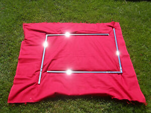 55 57 Chevy 2 Door H t Or Convertible Door Glass Frames L r