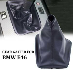 Leather Gear Shift Knob Gaiter Gaitor Boots Dust Cover Case For Bmw E30 E36 E46