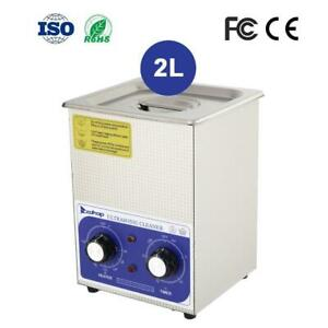 Zokop 2l Stainless Steel Ultrasonic Cleaner Sonic Cleaning Jewel Equipment Parts