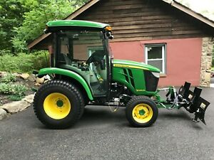 John Deere 3046 R Tractor 2017 With Snow Plow Snow Blower
