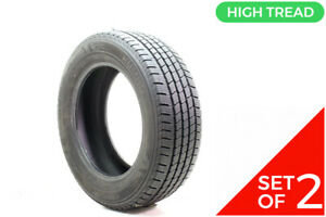 Set Of 2 Used 235 60r17 Kumho Crugen Ht51 102t 11 11 5 32