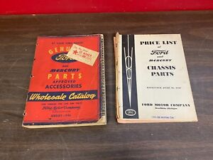 1938 1946 Ford Mercury Parts Approved Accessories Wholesale Catalog Book 720