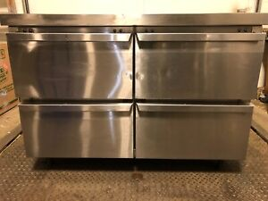Continental Refrigeration Swf48 48 Undercounter Freezer W Four Drawers