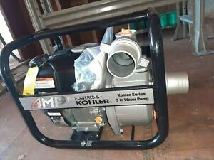 American Motor Products Akwp30 6 5hp 3 inlet Gas Powered Semi trash Water Pump