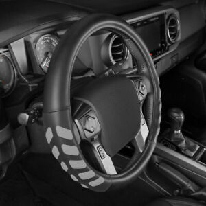 Ultra Sports Grip Leather Steering Wheel Cover Protector For Trucks By Cat