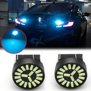 Led 8000k Ice Blue Reverse Backup Light For Honda Accord Civic Crv Fit 2008 2012