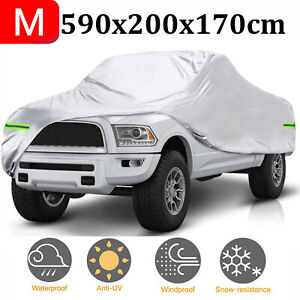 232 Waterproof Pickup Truck Car Cover Dust All Weather Snow Protection Outdoor