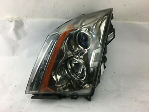 2008 2009 2010 2011 2012 2013 2014 Cadillac Cts Left Headlight Halogen Oem Good