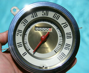 42 1942 Ford Vintage 100 Mph Speedometer