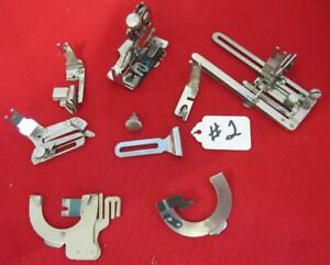 Group Of Vintage Singer Sewing Machine Back Clamp Attachments Rear Mount 2