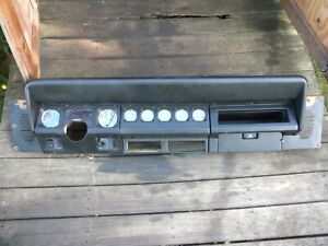 Jeep Yj Dark Complete Working Dash Pad 92 95 Wrangler