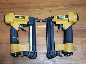 Lot Of 2 Stanley Bostitch S32sx Pneumatic Finish And Trim Stapler Free Shipping