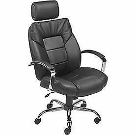 Big Tall Bonded Leather Executive Chair
