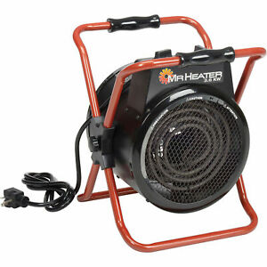 Mr Heater Portable Electric Forced Air Heater Mh360faet Garage Space Heater
