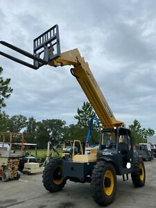 2012 Gehl Rs8 42 Telescopic Diesel Forklift 8k Lb 42 Reach Tilting Cab 1572hrs