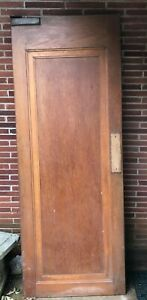 Antique Swing Door 84 X 32 Arts And Crafts Craftsman Style Architectural Salvage
