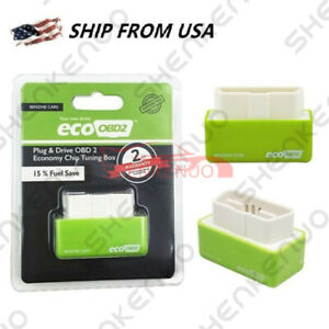 Economy Fuel Saver Eco Obd2 Benzine Tuning Box Chip For Car Petrol Saving Green