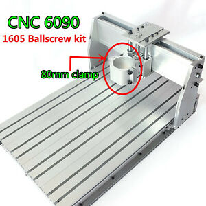 Diy 6090 Cnc Router Frame 1605 Ballscrew Kit Engrave Woodworking Milling Machine