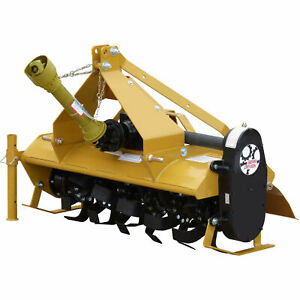 4 Gear Driven Rotary Tiller Implement With Adjustable Feet Category 1