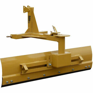 6 Heavy Duty Adjustable Grader Blade Tractor Implement Category 1
