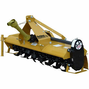 6 Gear Driven Rotary Tiller Implement With Adjustable Feet Category 1