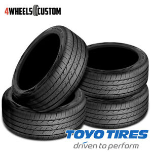 4 X New Toyo Versado Noir 205 55r16 91v Standard Touring All season Tire