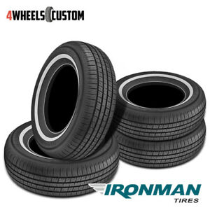 4 X New Ironman Rb 12 Nws 225 75r15 102s All season Touring Tire